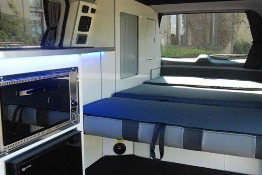 Wellhouse Hyundai I -Camper 2016 Double Bed (1)