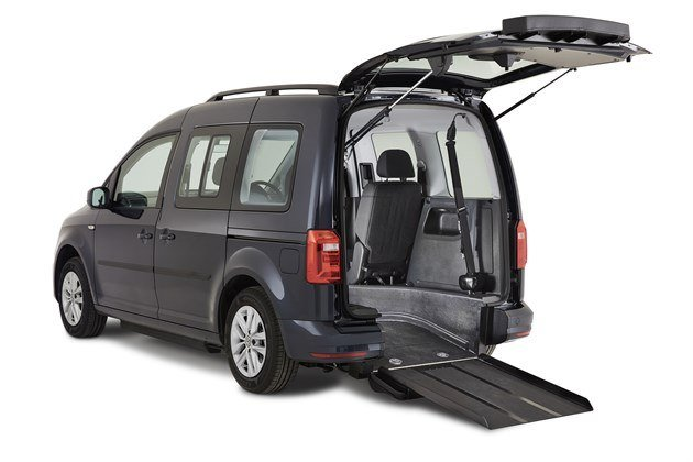 VW Caddy Sirius WAV With Ramp