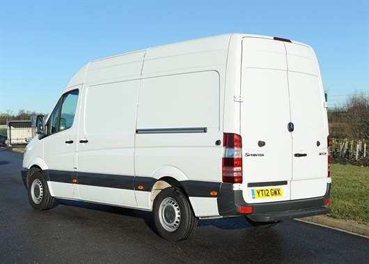 Mercedes Sprinter White (8)