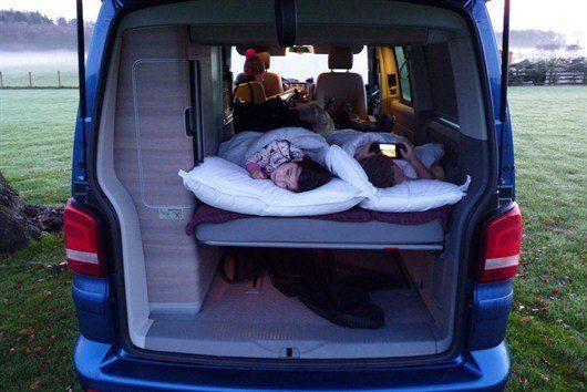 Campervanning: Is winter the new summer?     Honest John