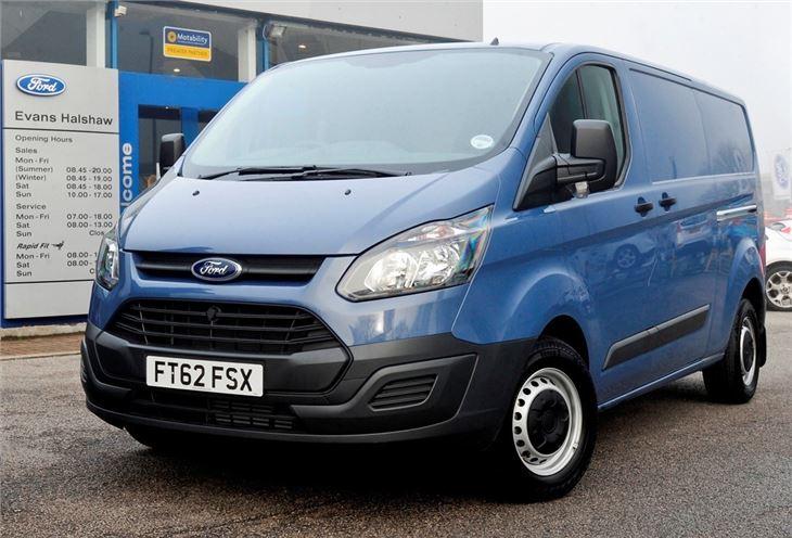 Ford transit custom 2013 van review honest john