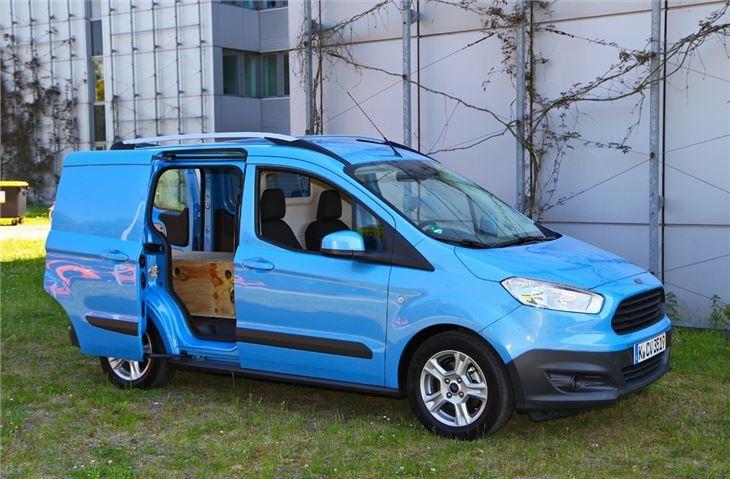 Ford 12 Passenger Van >> Ford Transit Courier 2014 - Van Review | Honest John