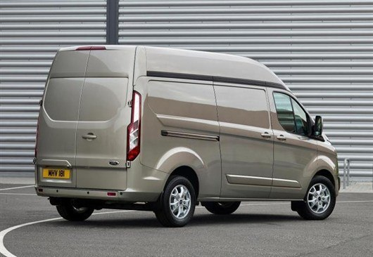 High Roof Ford Transit Custom Now On Sale Honest John
